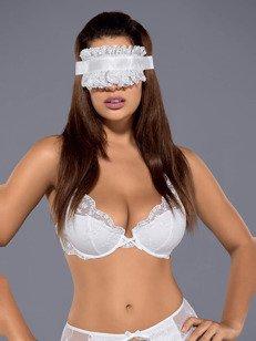 Etheria maska biała - koronkowa maska