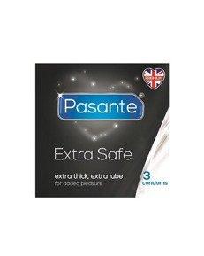 Extra Safe - dodatkowo nawilżane, pogrubiane (3 szt.)