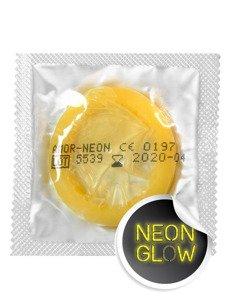 Neon - prezerwatywy świecące w ciemności (1 szt.)