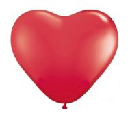 Serce w kolorze namiętnej czerwieni (balon) - bezpłatny prezent