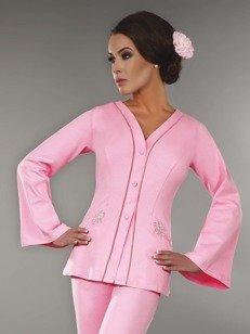 Sorana szlafrok - szlafrok mini w różowym odcieniu PROMOCJA!