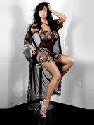 Hera Dressing Gown - niezwykle delikatny szlafroczek