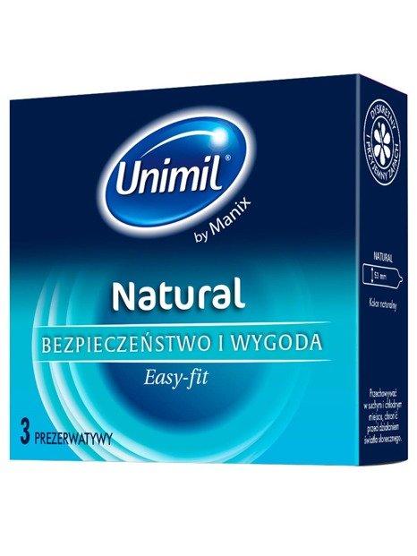 Natural - klasyczne prezerwatywy (3 szt.) - NC03NAPL