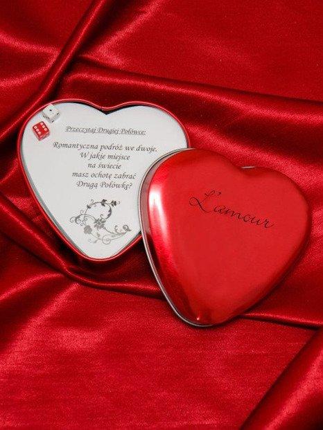 L'amour - romantyczna gra dla zakochanych – dla par o różnym stażu
